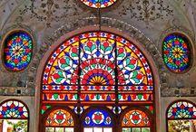 vitrales budistas
