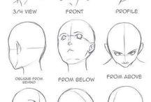 bosquejos rostro