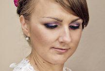 Ślub Ani i Marcina | Makijaż ślubny | Wedding makeup / Relacja z wykonania makijażu ślubnego dla Ani oraz makijażu okolicznościowego na ślub i wesele dla Mamy i Cioci Panny Młodej | Warszawa, 2013 | wedding makeup