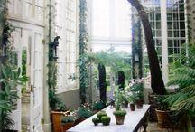 Wintergärten und Gewächhäuser