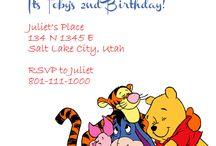 1st birthday invites
