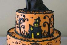 torta di festa halloween