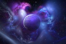 Weltall/Universum