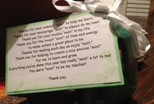 teacher gift ideas / by Crystal Adams