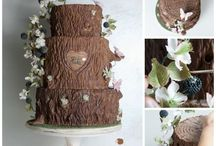 Hölzerne Hochzeit Tortenideen