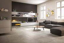tiles living room