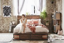My Dream Super Amart Bedroom / My look is inspired simply by looking at super amart furniture, mixing my love for the irresistible industrial style, and the real living & villastyling blogs!