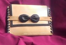 Leather Accessory - DIY / This board consists easy to make leather accessory from Vegetable tan leather or scrap pieces of leather  Keep exploring