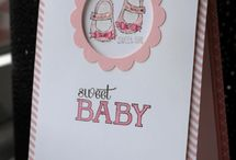 Baby cards and projects