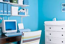 Office/Guest Bedroom / by Rebecca Pena