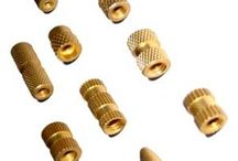 Brass Inserts Brass Molding Inserts / Our esteemed clients can avail from us an exclusive range of Brass Molding Inserts with finest quality raw material and various specifications.