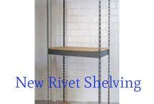 New Rivet Shelving