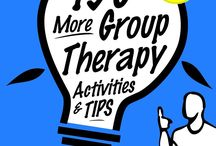 Group Therapy Activities, Handouts, Worksheets / This psycho-educational board offers practical handouts, worksheets and activities for working with interactive groups to build life skills. These resources can be used in counseling groups as well as in any training group which promotes emotional intelligence skills and mental health.