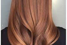 Golden blond hair colour