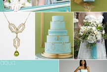 Aqua and other color combos / by Darlene Tefft Adkins