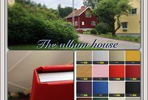 Studion / I vårt hus har vi en toppmodern studio