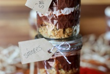 Jarred / Pins that highlight the versatility of a #Mason #Jar or any other Jar.  It may be delicious #desserts, or #gifts in a jar, or a centerpiece or two. / by Susan Prichard of Graphitti Creations