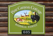 Cottage Signs / For summer homes and cottages