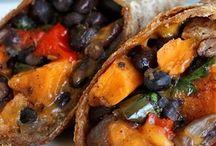 Sweet potatoes bouritos