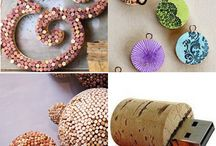 Cork craft / Recycling used corks