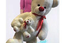 Anne Ayı Yavrulu Sevimli Ayıcık 110 cm Hediyecik.com.tr Online Oyuncak Hediye Alışveriş 7/24 Sipariş 0212 325 24 25