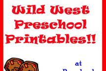pre-school: wild west