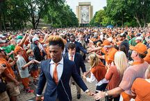Texas Football at Notre Dame [Sept. 5, 2015] / No. 11/11 Notre Dame (1-0) knocked off Texas (0-1) by a 38-3 count Saturday, Sept. 5, 2015 before a sellout crowd at Notre Dame Stadium. The contest marked the first meeting between the two schools in nearly 20 years.