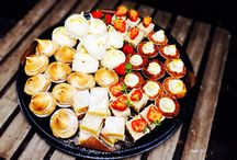 Rustique...platters / For corporate events, parties, weddings. We have platters for everything :)
