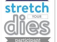 Stretch Your Dies / Another online card making class over at Online Card Classes!