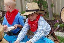 Zabawy w kowboj party