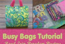 Busy bag/quiet box/puzzles