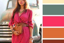 χρώματα, συνδυασμοί ρουχων