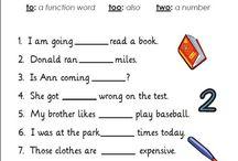 English language tools