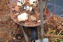 Halloween / Inspiratie over griezelen en spoken met de leukste tuinaccesoires!