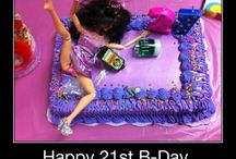 Birthdays / by Liarra Marchand