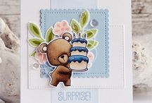 Cards - MFT / Beary Special Birthday