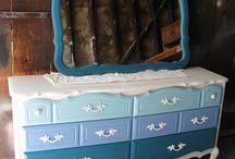 Painted muebles / by Laura Howard
