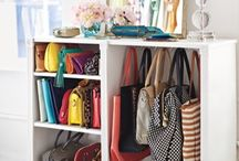 Accessory storage / Clever ways to store your shoes, bags and accessories!