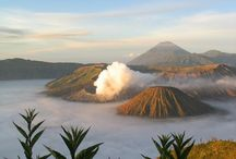 Indonesia Amazing Volcano / amazing Volcano Mountain at  Indonesia
