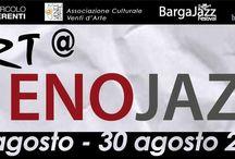 """""""ART@ENOJAZZ"""" / Mostra collettiva di arte contemporanea presso Villa Libano, Barga - Lucca dal 17 al 30 agosto 2014 #arte #contemporanea #art #artista #emergente"""