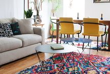 If I can't remodel this pad, I'll redecorate it! / Decorating ideas for mid-century modern home....