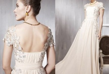 wedding dresses / beautiful vintage look wedding dresses by elliotclaire London