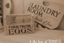 Vintage Signs / by 4 the love of WOOD