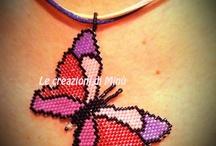 bead kelebek,butterfly