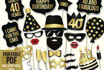Festas de aniversário / 40 anos