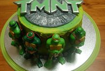 Teenage Mutant Ninja Turtle Cake Ideas / TMNT, Leonardo, Michelangelo, Donatello, Raphael, cake, cupcake, cookies, cake pops, pizza, cowabunga