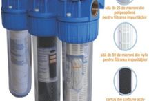 Filtre pentru apa / Aici se regesc toate tipurile de filtre pentru comercializate de noi