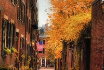 Fall in Boston / There's nothing quite like it! Such a beautiful time in a beautiful city.