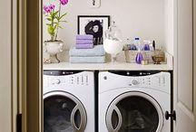 laundry room ideas / by Melissa Gorman (Wedding Obsession)