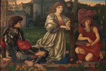 The Pre-Raphaelite Style / The Pre-Raphaelite brotherhood sought to reform art through the use of abundant detail, vibrant color, and pastoral settings. This highlight set of objects was featured in The Metropolitan Museum of Art's Open Access initiative that launched in partnership with Pinterest on February 7, 2017.